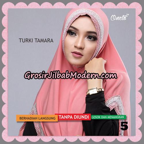Jilbab Syari Cantik Khimar Turki Tamara Support Oneto No 5