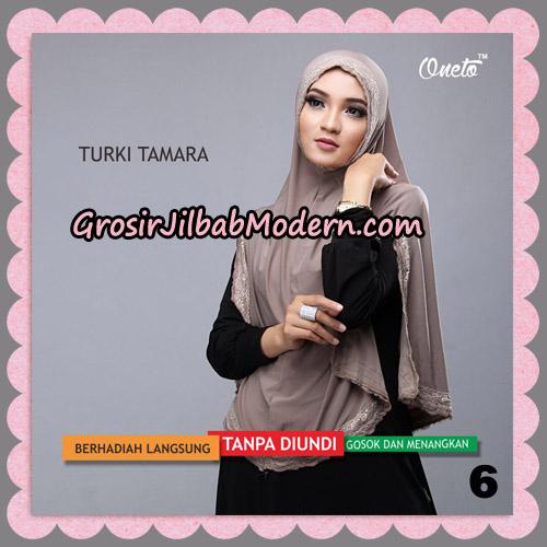 Jilbab Syari Cantik Khimar Turki Tamara Support Oneto No 6