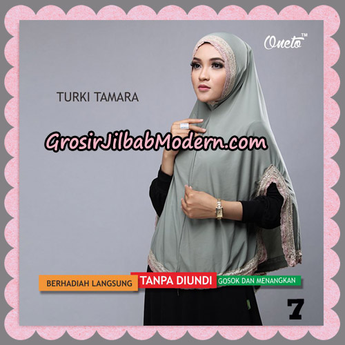 Jilbab Syari Cantik Khimar Turki Tamara Support Oneto No 7