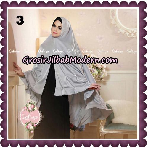 Jilbab Syari Khimar Lulu Original by Qalisya Hijab Brand No 3