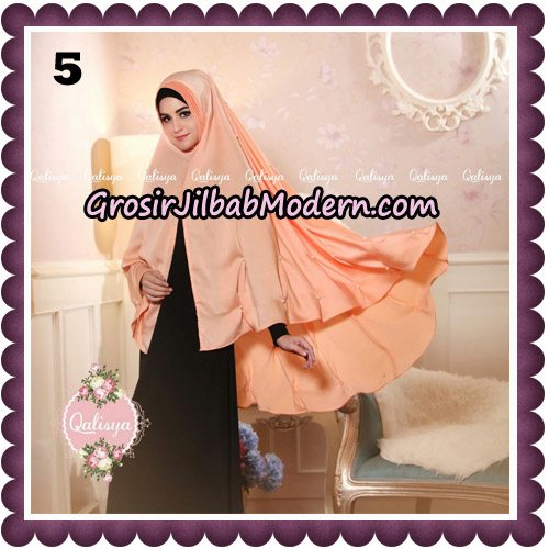 Jilbab Syari Khimar Lulu Original by Qalisya Hijab Brand No 5
