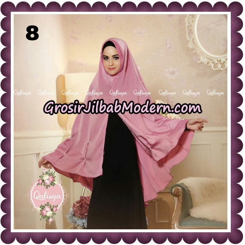 Jilbab Syari Khimar Lulu Original by Qalisya Hijab Brand No 8
