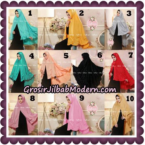 Jilbab Syari Khimar Lulu Original by Qalisya Hijab Brand