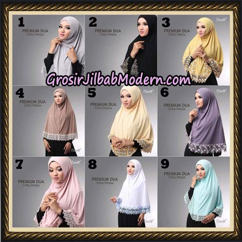 Jilbab Syria Prada Premium Dua Original By Oneto Hijab Brand