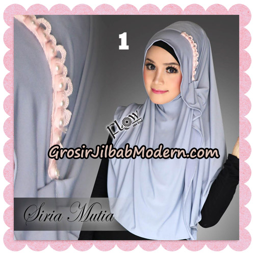 Jilbab Cantik Instant Syria Mutia Original By Flow Idea No 1