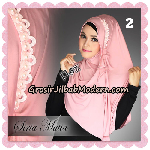Jilbab Cantik Instant Syria Mutia Original By Flow Idea No 2