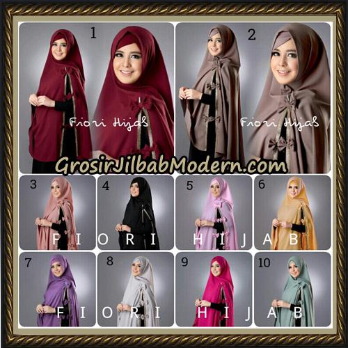 Jilbab Cantik Khimar Risty Swarovski Original by Fiori Hijab Brand