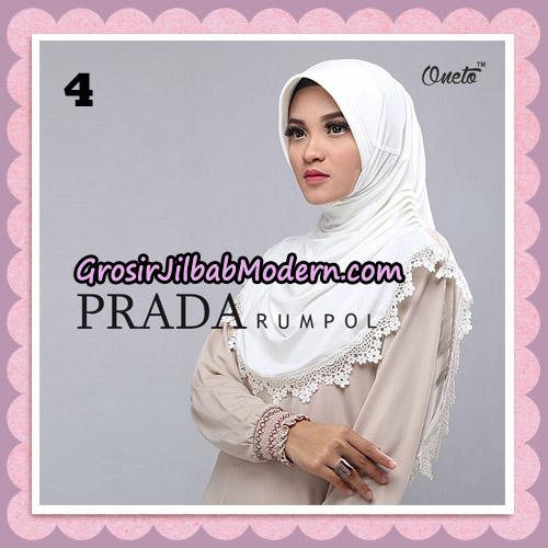 Jilbab Cantik Prada Rumpol Original By Oneto Hijab Brand No 4