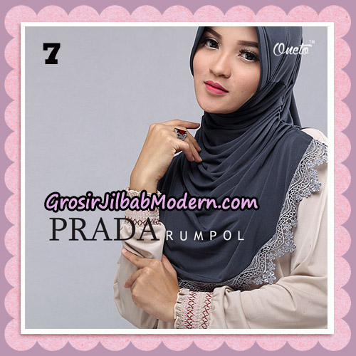 Jilbab Cantik Prada Rumpol Original By Oneto Hijab Brand No 7