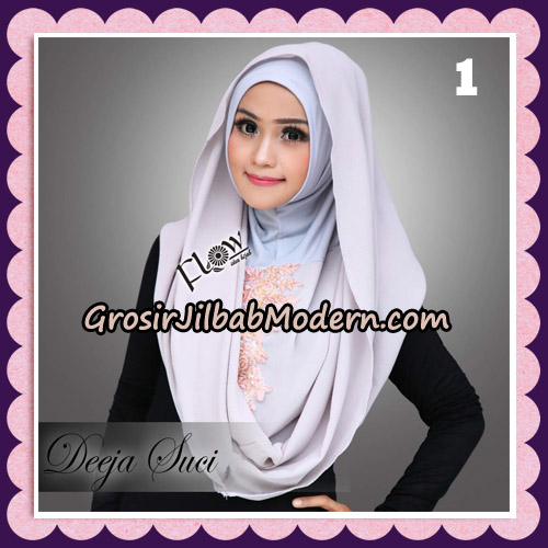 Jilbab Instant Cantik Deeja Suci Original By Flow Idea No 1