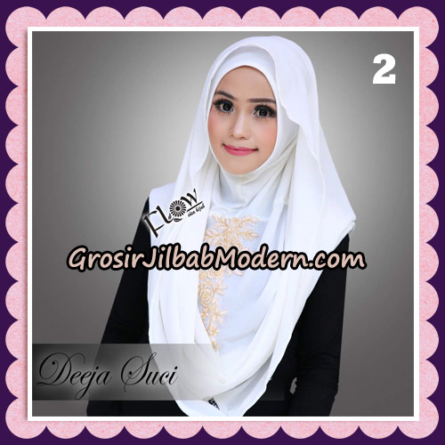 Jilbab Instant Cantik Deeja Suci Original By Flow Idea No 2