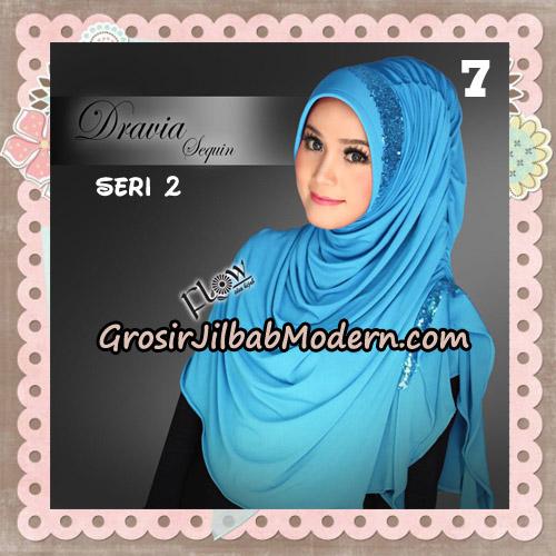 Jilbab Instant Cantik Syria Dravia Sequin Seri 2 Original By Flow Idea No 7