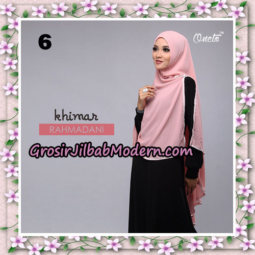 Jilbab Instant Khimar Rahmadani Original By Star Support Oneto Hijab No 6