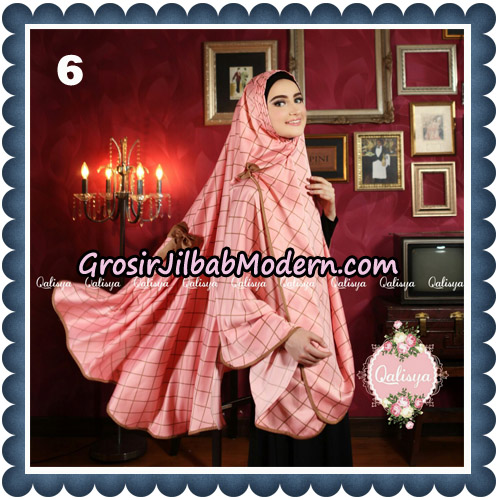 Jilbab Syari Khimar Lauza Original by Qalisya Hijab Brand No 6