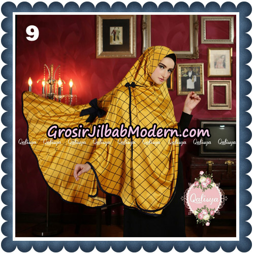 Jilbab Syari Khimar Lauza Original by Qalisya Hijab Brand No 9