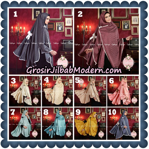 Jilbab Syari Khimar Lauza Original by Qalisya Hijab Brand