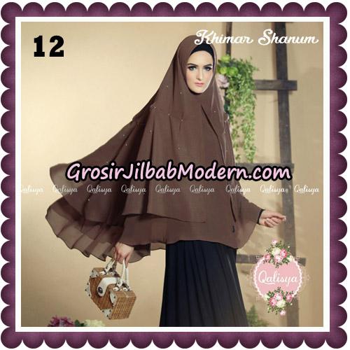 Jilbab Syari Khimar Shanum Original by Qalisya Hijab Brand No 12