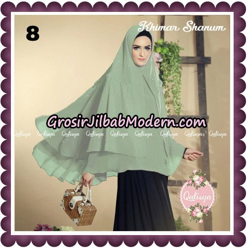 Jilbab Syari Khimar Shanum Original by Qalisya Hijab Brand No 8