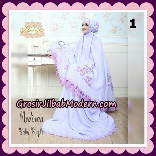 Medinna Set Mukena dan Tas Cantik Original By Narinda Hijab Brand No 1