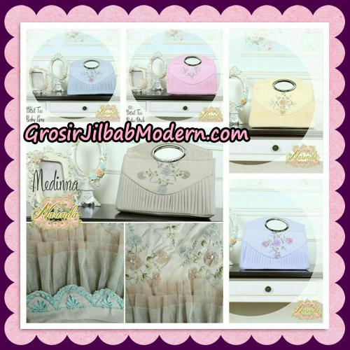 Medinna Set Mukena dan Tas Cantik Original By Narinda Hijab Brand - detail tas