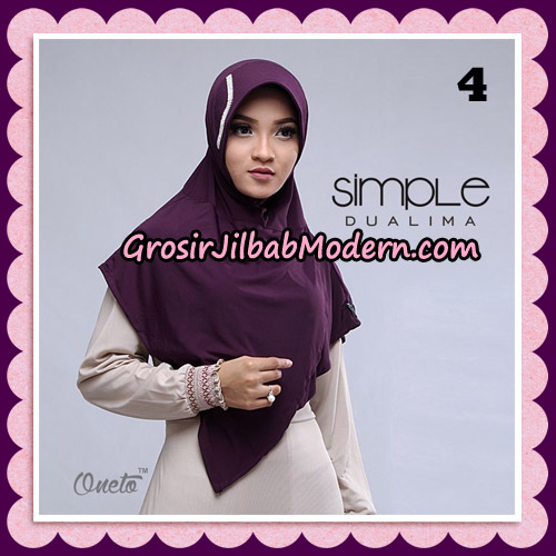 Jilbab Bergo Simple Hijab Seri 25 Original By Firza Hijab Brand No 4