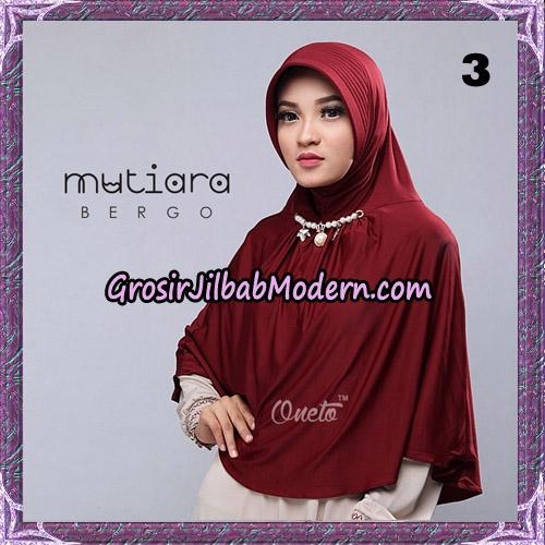 Jilbab Cantik Bergo Mutiara Original By Oneto Hijab Brand NO 3