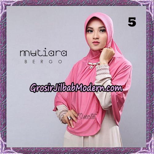 Jilbab Cantik Bergo Mutiara Original By Oneto Hijab Brand NO 5