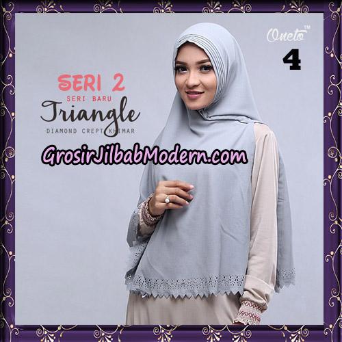 Jilbab Cantik Khimar Lipit Triangle Seri 2 Original By Oneto Hijab Brand No 4