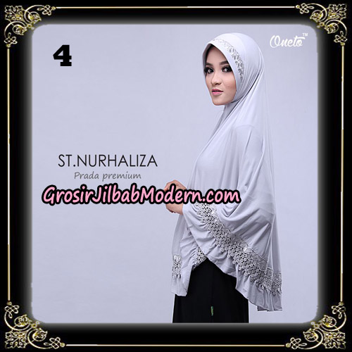 Jilbab Cantik St Nurhaliza Prada Premium Bergo By St Support Oneto Hijab No 4
