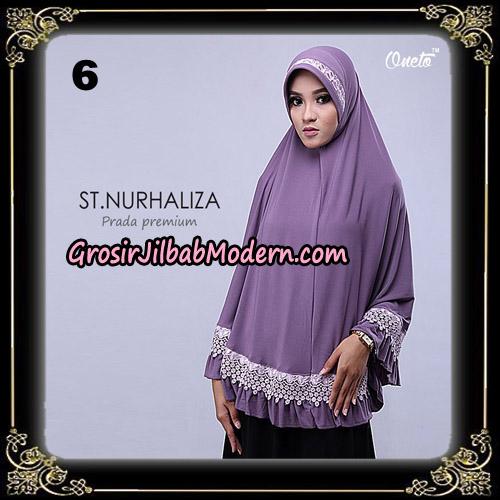 Jilbab Cantik St Nurhaliza Prada Premium Bergo By St Support Oneto Hijab No 6