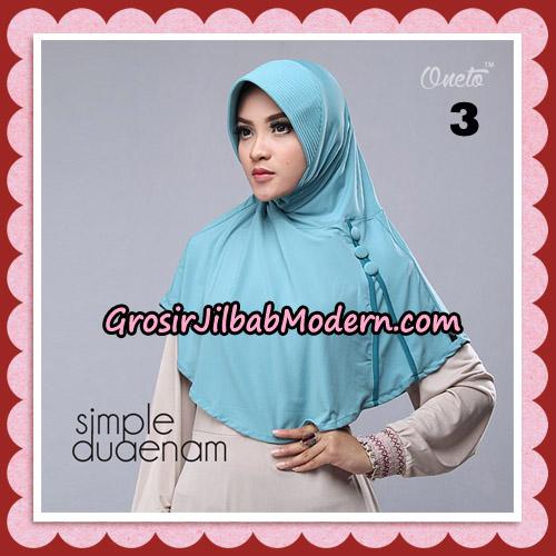 Jilbab Bergo Simple Hijab Seri 26 Original By Firza Hijab Brand NO 3