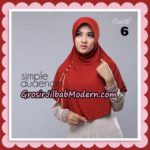 Jilbab Bergo Simple Hijab Seri 26 Original By Firza Hijab Brand No 6