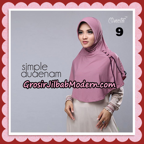 Jilbab Bergo Simple Hijab Seri 26 Original By Firza Hijab Brand No 9