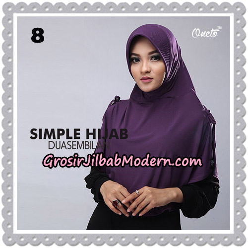 Jilbab Bergo Simple Hijab Seri 29 Original By Firza Hijab Brand No 8