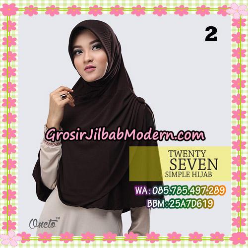 Jilbab Bergo Simple Hijab Twenty Seven Original By Firza Hijab Brand No 2