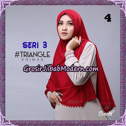Jilbab Cantik Khimar Lipit Triangle Seri 3 Original By Oneto Hijab Brand No 4