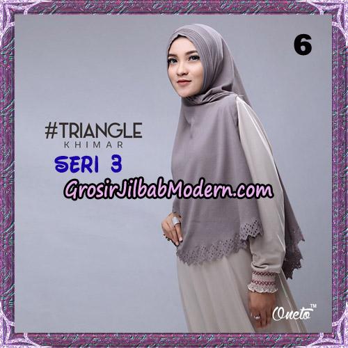 Jilbab Cantik Khimar Lipit Triangle Seri 3 Original By Oneto Hijab Brand No 6