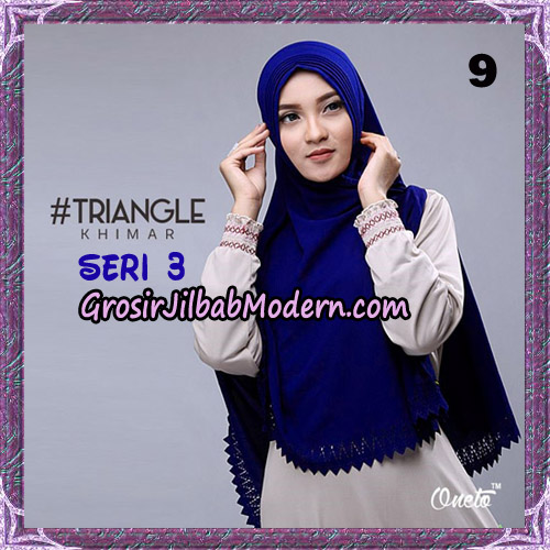 Jilbab Cantik Khimar Lipit Triangle Seri 3 Original By Oneto Hijab Brand No 9