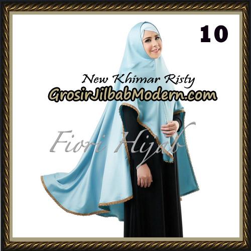 Jilbab Cantik New Khimar Risty Original by Fiori Hijab Brand No 10