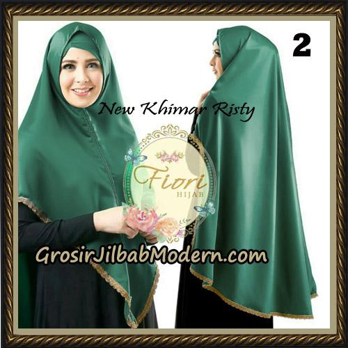 Jilbab Cantik New Khimar Risty Original by Fiori Hijab Brand No 2