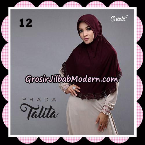 Jilbab Cantik Prada Talita Original By Oneto Hijab Brand No 12