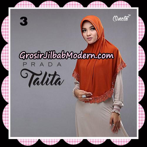 Jilbab Cantik Prada Talita Original By Oneto Hijab Brand No 3
