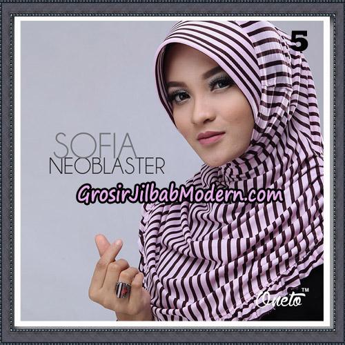 Jilbab Cantik Sofia Neoblaster Original By Oneto Hijab Brand No 5