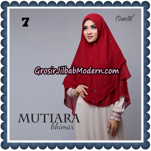 Jilbab Instant Cantik Mutiara Khimar By Ashafiq Support Oneto Hijab NO 7