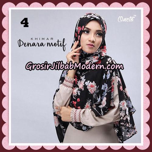 Jilbab Instant Khimar Denara Motif Original By Oneto Hijab Brand No 4