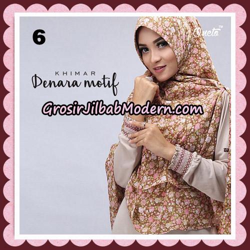 Jilbab Instant Khimar Denara Motif Original By Oneto Hijab Brand No 6