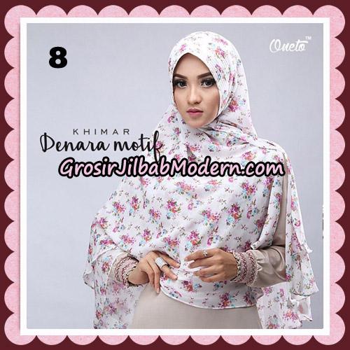 Jilbab Instant Khimar Denara Motif Original By Oneto Hijab Brand No 8