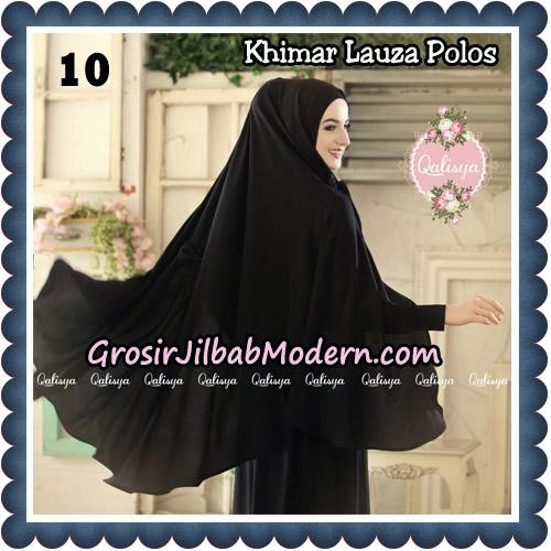 Jilbab Syari Khimar Lauza Polos Original by Qalisya Hijab Brand No 10