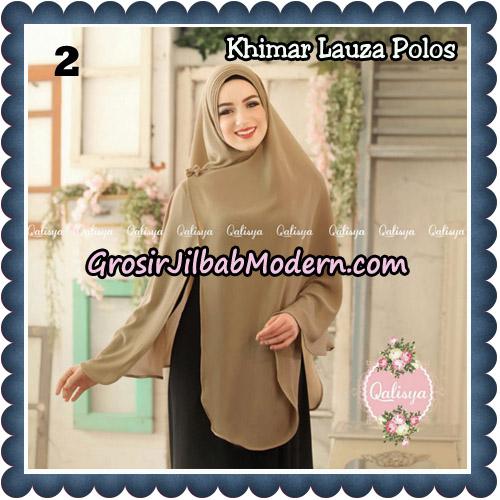 Jilbab Syari Khimar Lauza Polos Original by Qalisya Hijab Brand No 2