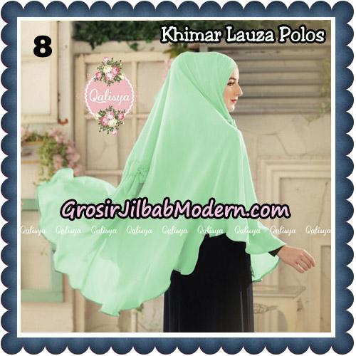 Jilbab Syari Khimar Lauza Polos Original by Qalisya Hijab Brand No 8